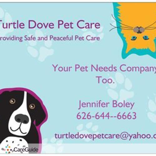 Pet Care Provider Jennifer Boley's Profile Picture