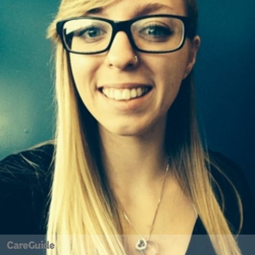 Canadian Nanny Provider Kyla Brooking's Profile Picture