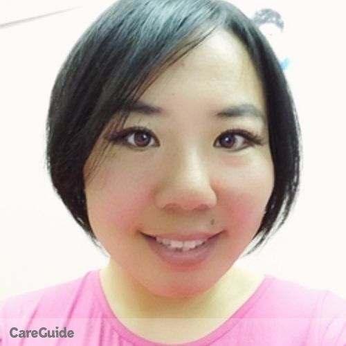 Canadian Nanny Provider Bing Wang's Profile Picture