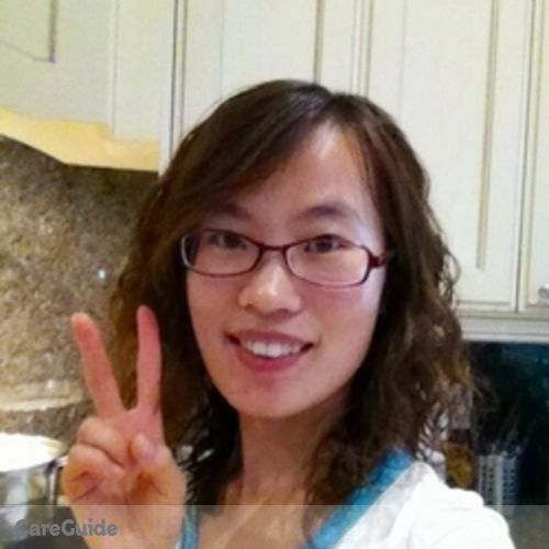 Canadian Nanny Provider Xin Mei Wang's Profile Picture