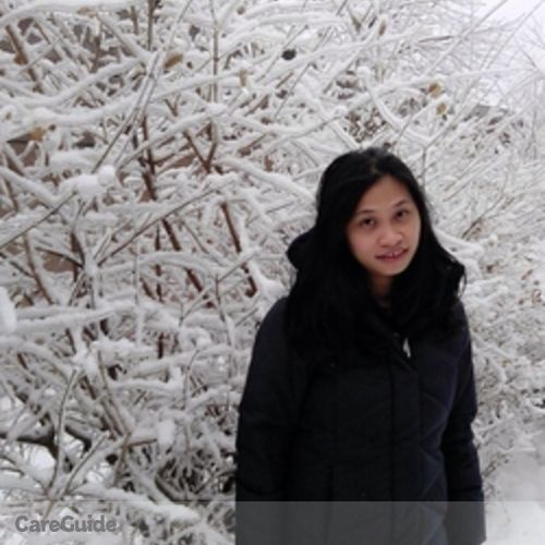 Canadian Nanny Provider Marlyn Tolang's Profile Picture