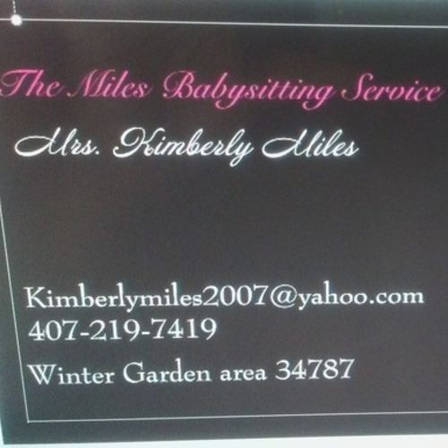 Child Care Provider Kimberly Miles Gallery Image 1
