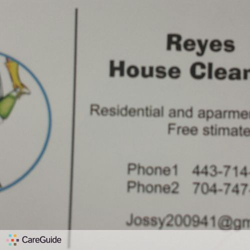 Housekeeper Provider Jocelyn P's Profile Picture