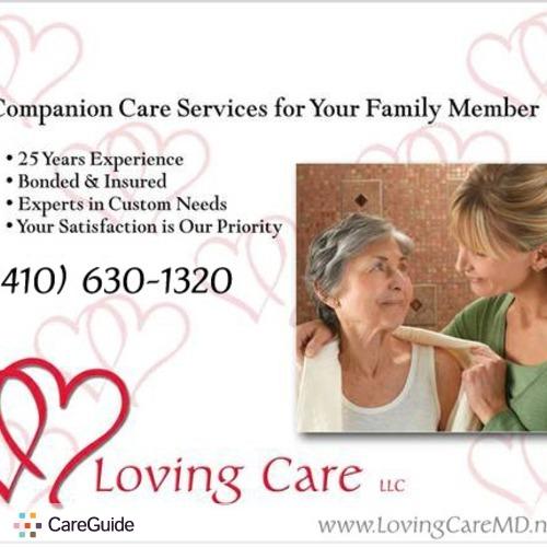 Elder Care Provider Joy Spencer's Profile Picture