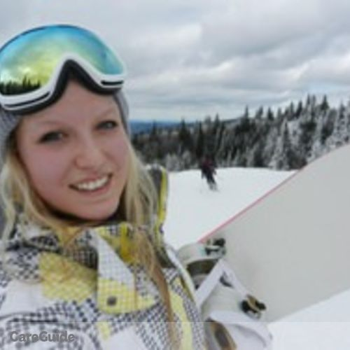 Canadian Nanny Provider Kathryn Kauth's Profile Picture