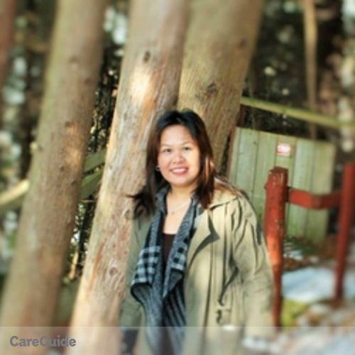 Canadian Nanny Provider Imelda Red's Profile Picture