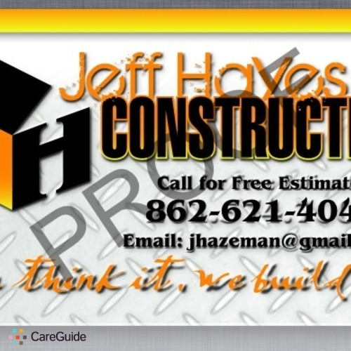 Roofer Provider Jeff Hayes's Profile Picture