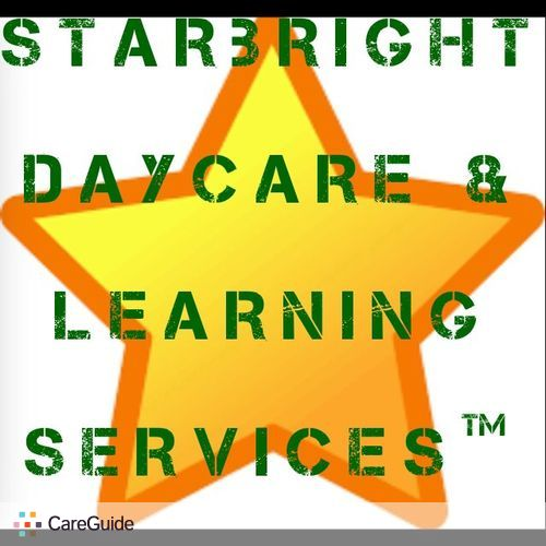 Child Care Provider Starbright Daycare & Learning Serivces's Profile Picture