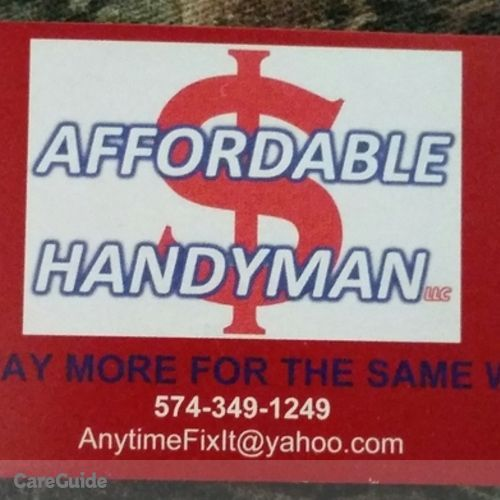 Handyman Provider Greg Fisher's Profile Picture