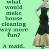 Present Housekeeping Service for Hire