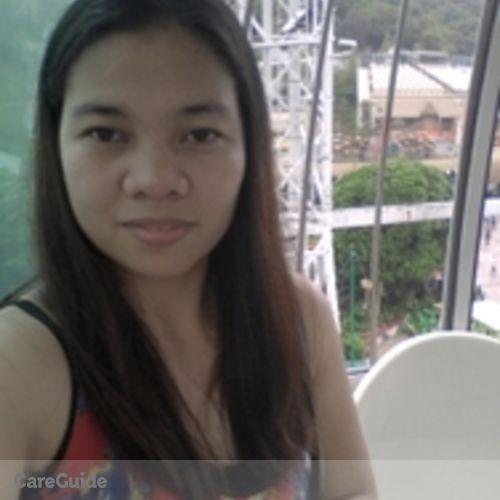 Canadian Nanny Provider Ma. Elena Fiesta's Profile Picture
