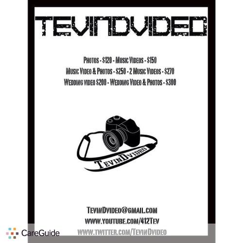 Videographer Provider Tevin Dandridge's Profile Picture