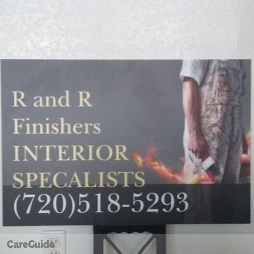 Painter Provider R and R Finishers Chris Davis's Profile Picture