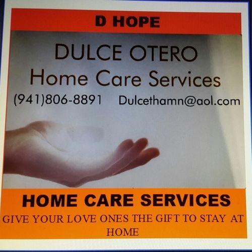 Elder Care Provider Dulce O's Profile Picture