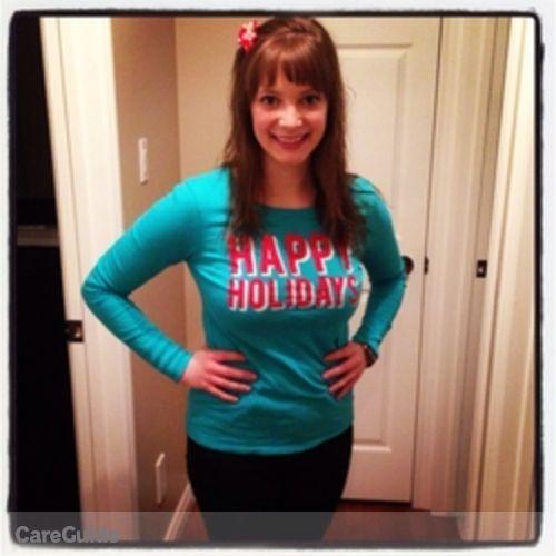 Canadian Nanny Provider Alexa Morris's Profile Picture