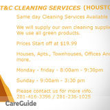 Housekeeper, House Sitter in Houston