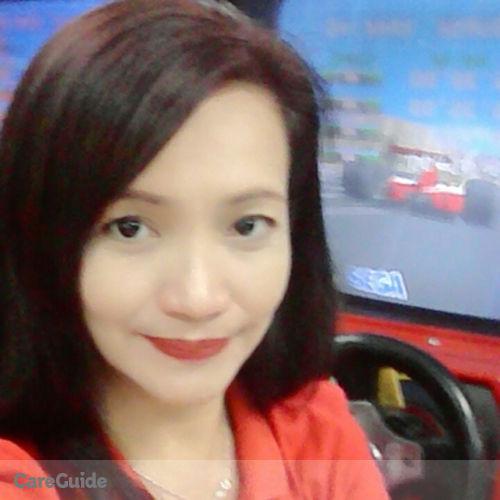 Canadian Nanny Provider Annaliza Isidro's Profile Picture