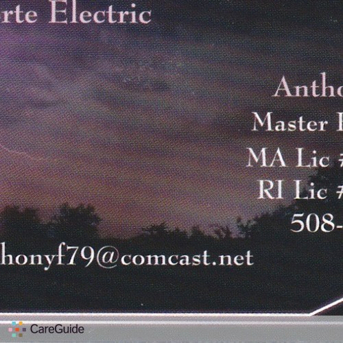 Electrician Provider Anthony Forte's Profile Picture