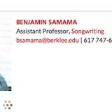 BERKLEE PROFESSOR voice and songwriting coaching