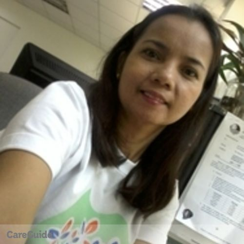 Canadian Nanny Provider Grace Macapanas's Profile Picture