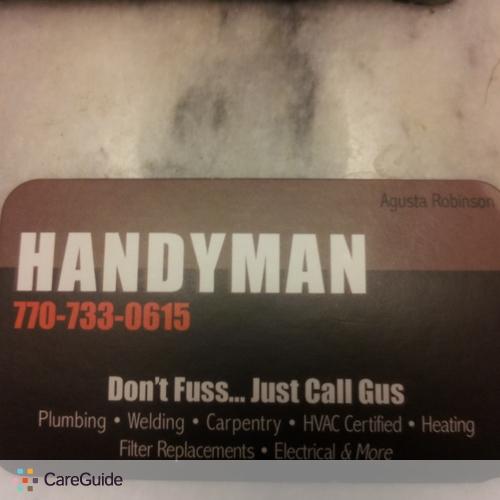 Handyman Provider Agusta Robinson's Profile Picture