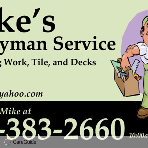 Handyman Provider Mike N's Profile Picture