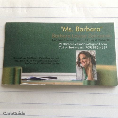 Child Care Provider Ms. B's Profile Picture