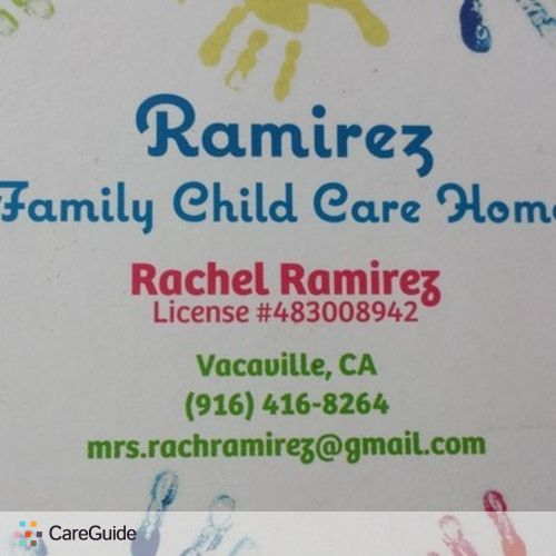 Child Care Provider Rachel Ramirez's Profile Picture