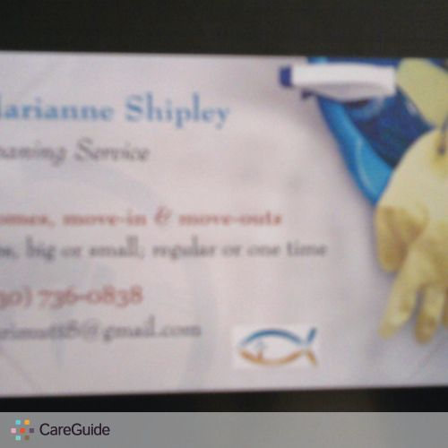 Housekeeper Provider Marianne Shipley's Profile Picture