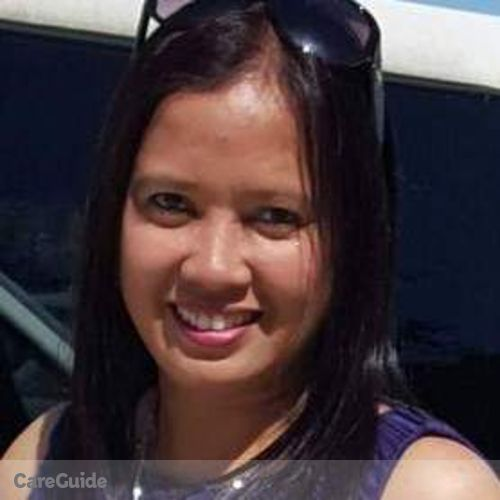 Canadian Nanny Provider Ednalyn T's Profile Picture