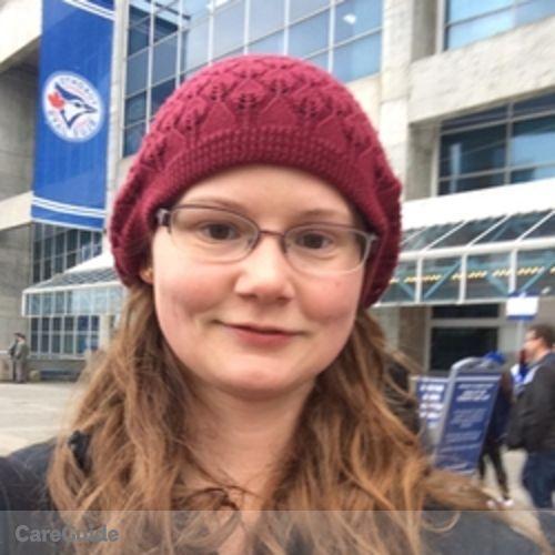 Canadian Nanny Provider Rachel T's Profile Picture