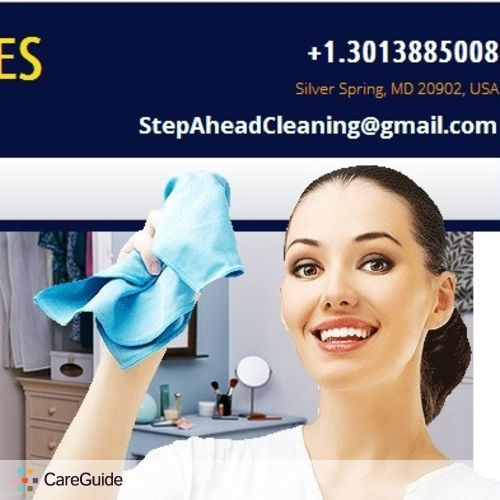 Housekeeper Provider Step Ahead Cleaning Services's Profile Picture