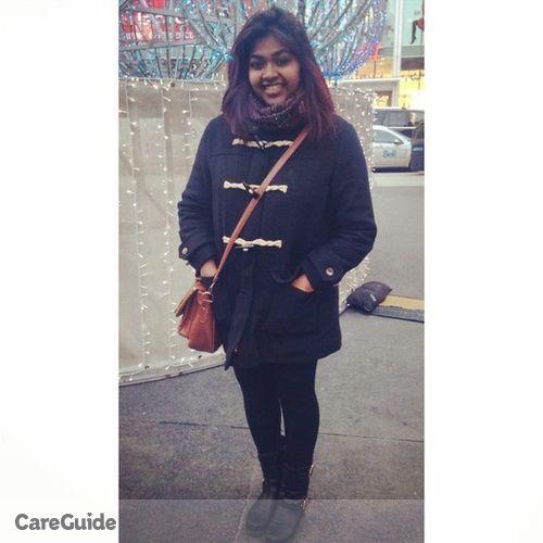 Canadian Nanny Provider Sanshia Fernando's Profile Picture