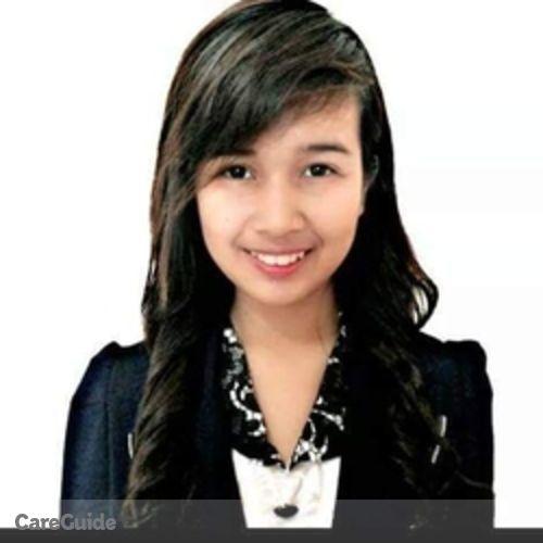 Canadian Nanny Provider Melqui R's Profile Picture