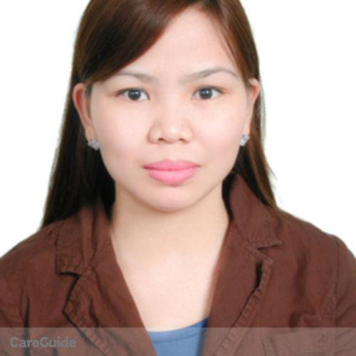 Canadian Nanny Provider Marjorie Medriano's Profile Picture