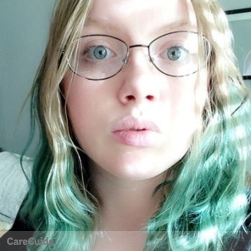 Canadian Nanny Provider Jenna Campbell's Profile Picture