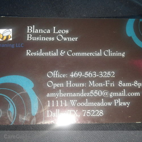 Housekeeper Provider Bianca Leos's Profile Picture
