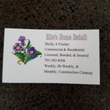 Experienced residential and commercial cleaning.