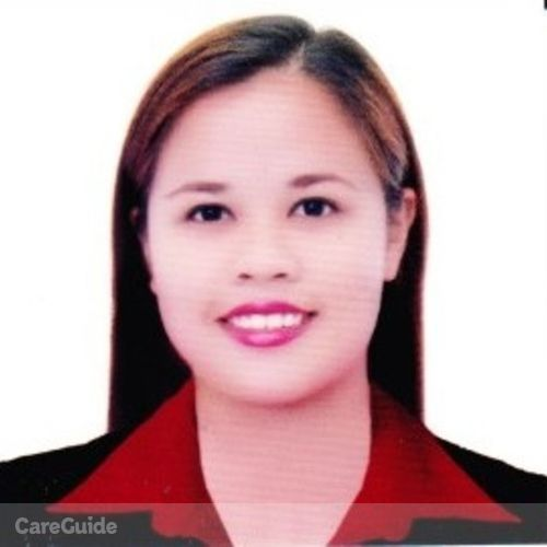 Elder Care Provider Marichar Atienza's Profile Picture
