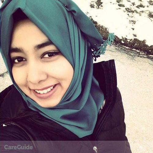 Canadian Nanny Provider Sarzana Zafar's Profile Picture
