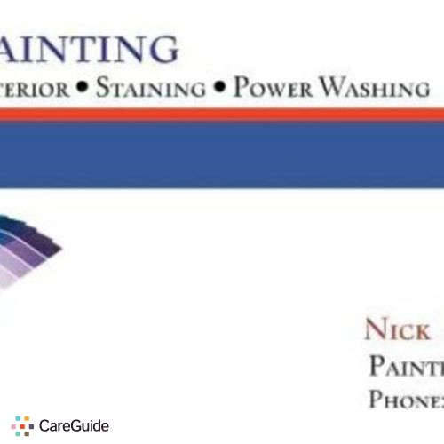 Painter Provider Nick Stolte's Profile Picture