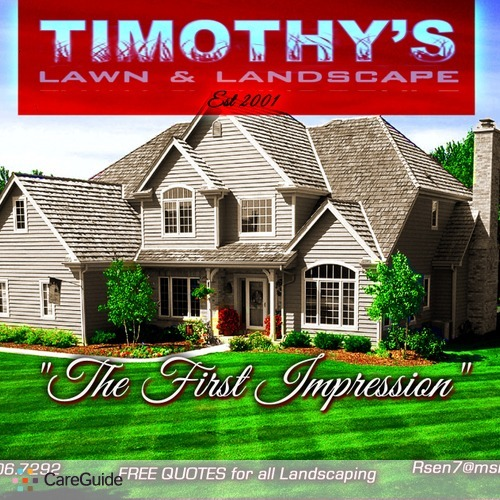 Timothy S Lawn Care Give Your Yard And Landscape Some