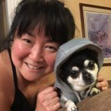 I adore dogs..I have a chihuahua, who is my baby. My husband knows my pup is my love...