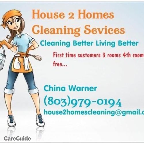 Housekeeper Provider China Warner's Profile Picture
