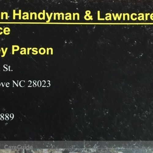 Handyman Provider Rodney Parson's Profile Picture