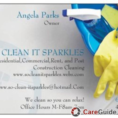 Housekeeper Provider Angela Parks's Profile Picture