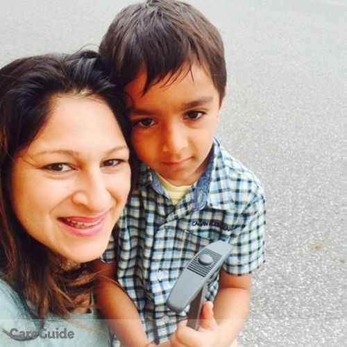 Canadian Nanny Job Amita Chandra's Profile Picture
