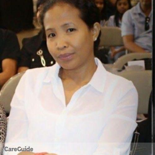 Canadian Nanny Provider Maria Delia Domingo's Profile Picture