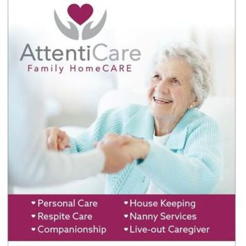 Elder Care Provider AttentiCare Family Home Care Agency's Profile Picture