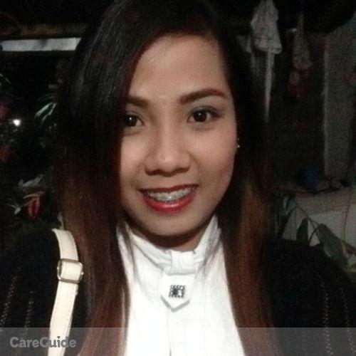 Canadian Nanny Provider Mae Olete's Profile Picture